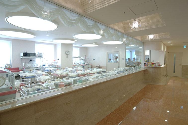 新生児室 The second floor / Nursery