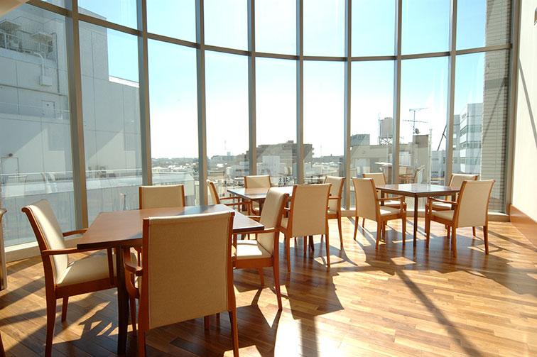 5階ラウンジ The fifth floor / Lounge