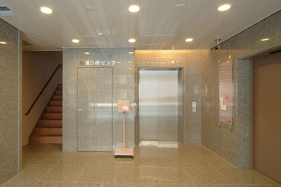 専用エレベータホール